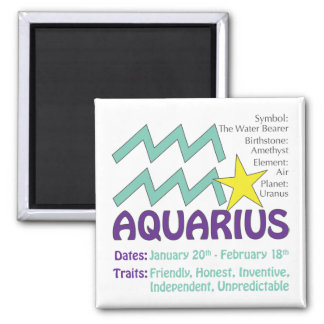Aquarius Traits Magnet