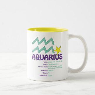Aquarius Traits Mug