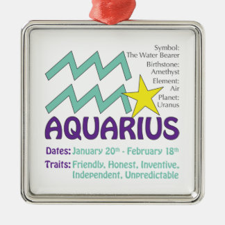 Aquarius Traits Ornament
