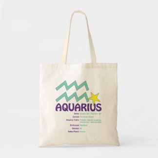 Aquarius Traits Tote