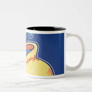 Aquarius Two-Tone Coffee Mug