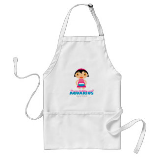 Aquarius Zodiac Apron for kids