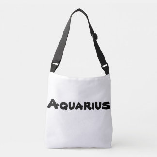 Aquarius Zodiac Cross-over-bag Crossbody Bag