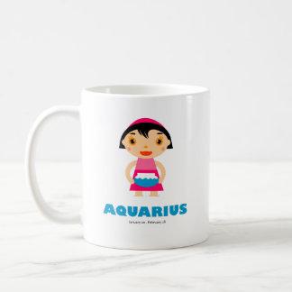 Aquarius Zodiac for kids Classic White Coffee Mug
