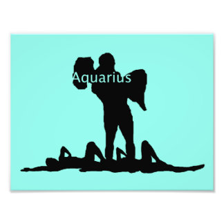 Aquarius Zodiac Photographic Print
