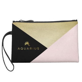 Aquarius Zodiac Pretty Cosmetic Bag
