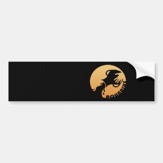 Aquarius Zodiac Sign Bumper Sticker