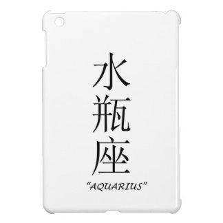"""Aquarius"" zodiac sign Chinese translation iPad Mini Case"