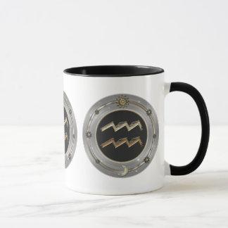 Aquarius Zodiac Sign Mugs