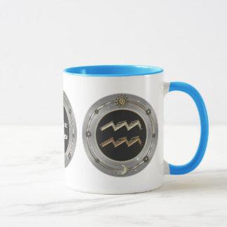Aquarius Zodiac Sign Personalized Mugs