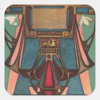 Aquarius Zodiac Sticker