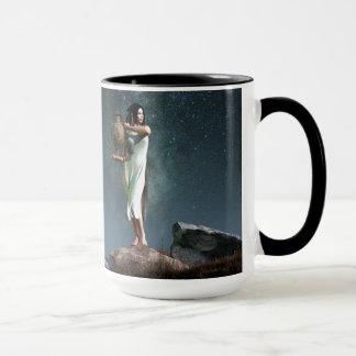 Aquarius Zodiac Symbol Mug