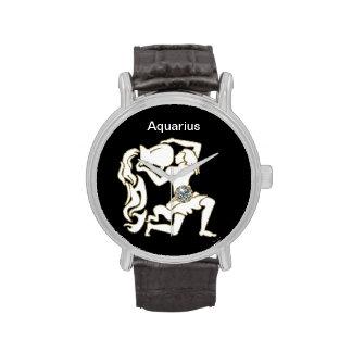 Aquarius Zodiac Wrist Watch