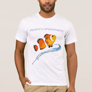 AquaTerra Environments Clownfish Stylized Shirt