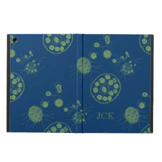 Aquatic Algae Pandorina Monogram iPad Air Cases