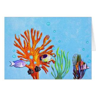 Aquatic Life Card