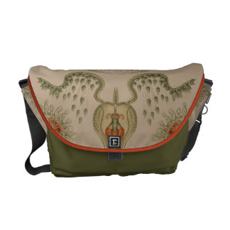 Aquatic Life Haeckel Jellyfish Courier Bag