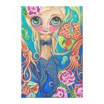 """""""Aquatic Mermaid"""" Canvas Print"""