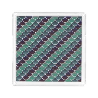 Aquatic Scales Acrylic Tray