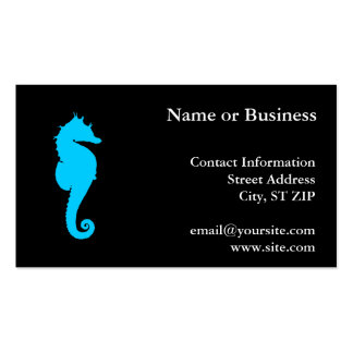 Aquatic Seahorse Pack Of Standard Business Cards