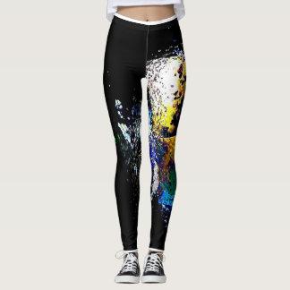 Aquatic Shine Workout Pants