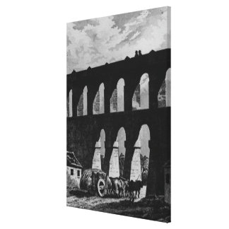 Aqueduct at Rio Canvas Print