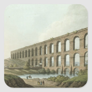 Aqueduct near Belgrade, Serbia, plate 6 from 'View Square Sticker