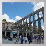 Aqueduct, Segovia, Spain Poster