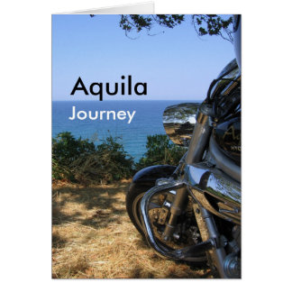 Aquila Journey Post Card A1
