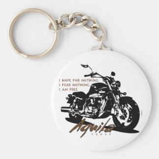Aquila The Poet Basic Round Button Key Ring