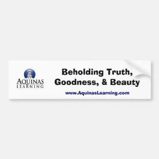 Aquinas Learning Bumper Sticker
