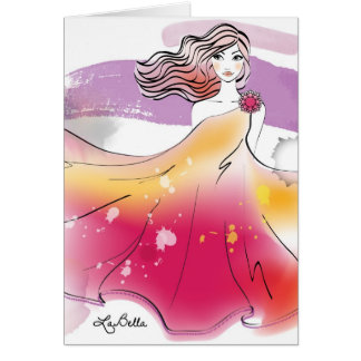 AquqBella Greeting Card - Fairy2