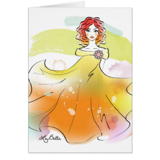 AquqBella Greeting Card - Fairy3