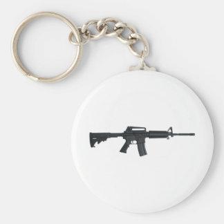 AR15 assault rifle Key Ring