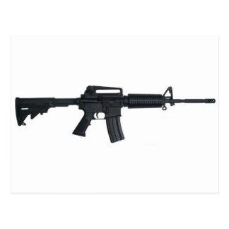 AR15 assault rifle Postcard