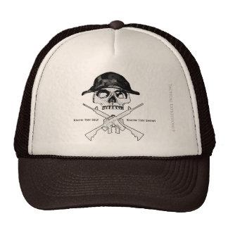 AR15 Cross Bones Mesh Hats