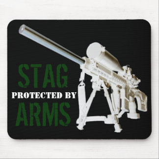 AR15 Mouse Pad- Protected by STAG ARMS Mouse Mat