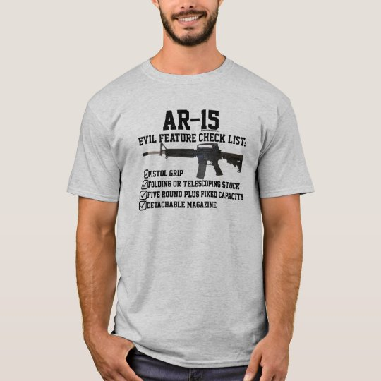 AR-15 - Certified Evil Checklist II T-Shirt