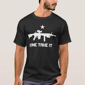 AR-15 COME TAKE IT shirt
