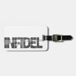 AR-15 INFIDEL Gun Rights Pro American Luggage Tags