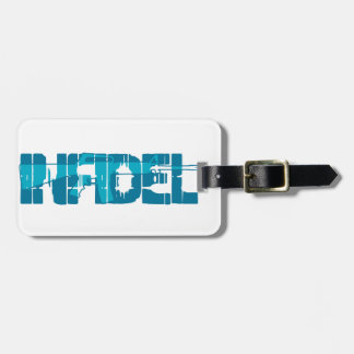 AR-15 INFIDEL Gun Rights Pro American Tag For Bags