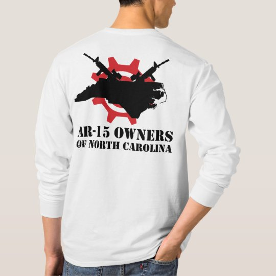 AR-15 Owners of North Carolina Long Sleeved T-Shir