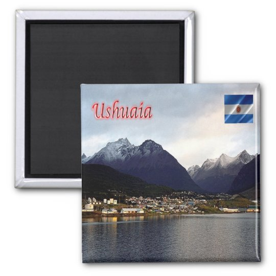 AR - Argentina - Ushuaia  By Night Magnet