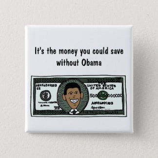 AR- Funny Anti Obama Political Button