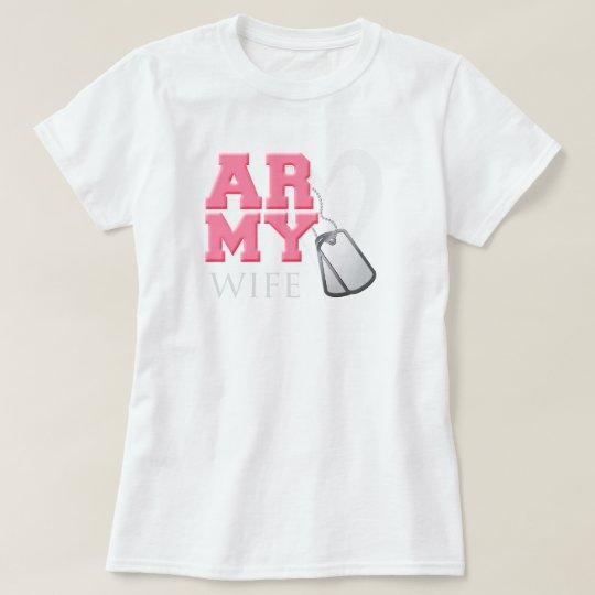 AR-MY Wife T-Shirt