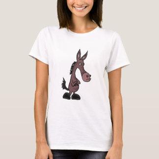 AR- Stubborn Mule or Donkey Cartoon T-Shirt