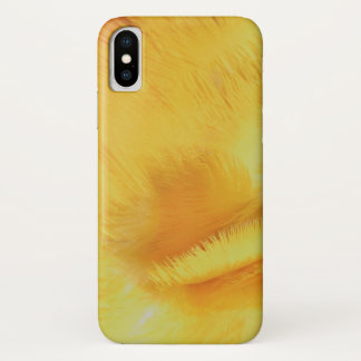 Ara Parrot Yellow Feathers Close Up Photo iPhone X Case