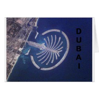 Arab Emirates Dubai Palm-Island Resort (St.K) Greeting Card
