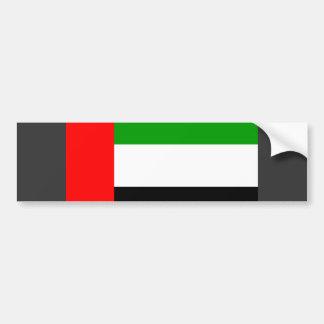 Arab Emirates Flag Bumper Sticker