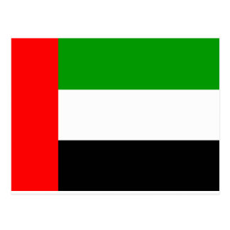 Arab Emirates Flag Postcard